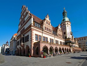 Old town hall in Leipzig